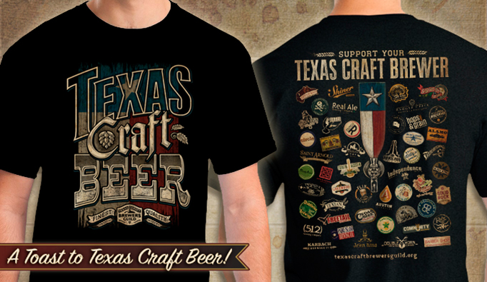 Custom screen printing in austin tx outhouse designs blog for Craft brewery t shirts