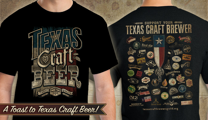 Texas Craft Beer, Craft Beer Shirt, Beer shirts
